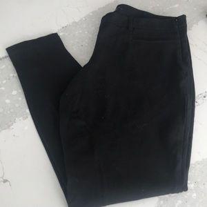 Theory Black Dress Pants w/side zipper